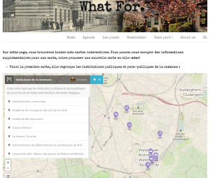 whatfor, watermael-boitsfort, information locale